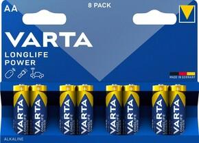 Varta Cons.Varta Batterie Longl.Power AA Mignon, LR6, Al-Mn 4906 Bli.8