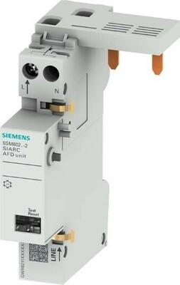 Siemens Indus.Sector Brandschutzschalter-Block AFDD, f.FI/LS, 16A 5SM6021-2