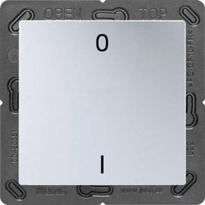 Jung Funk-Wandsender aluminium 2-kanalig Symbole ENO A 590-01 AL