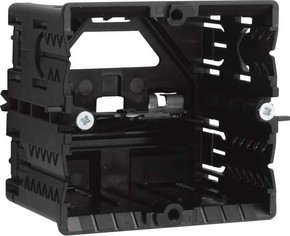 Tehalit Geräteeinbaudose C-Profil 55x65 schwarz GLS5500