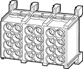 Kleinhuis Hauptleitungsabzweigklemme 2x25qmm,fingersicher HLAC25-12