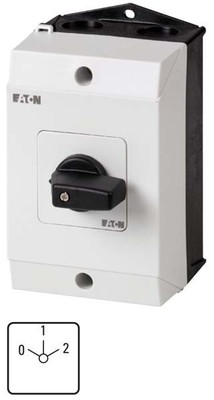 eaton Pol-Umschalter 3p. I(G), 20A/6,5kW T0-3-8451/I1
