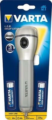 Varta Cons.Varta Taschenlampe m.Batt. 2xMignon LED Gelly Light2AA
