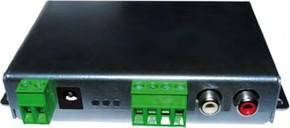 WHD Verstärker 1x30W,230V,Metall AMP130 si