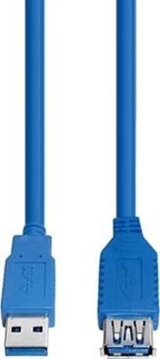 E+P Elektrik USB3.0 Verlängerung AA 1,5m,blau CC318/1