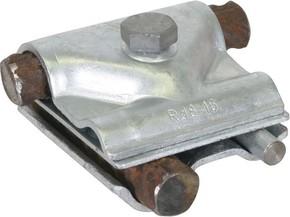 DEHN Maxi-MV-Klemme St/tZn f. Rd 8-16/15-25mm MMVK R16 R25 ST