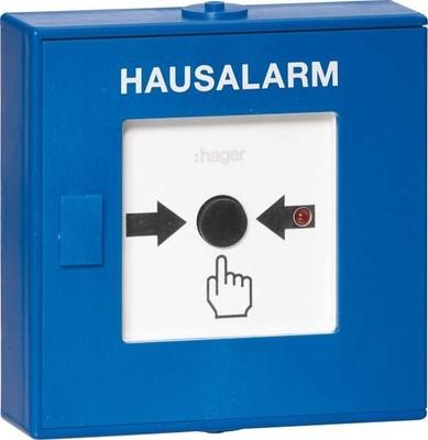 Hager Funk-Druckknopfmelder Hausalarm TG558A
