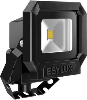 ESYLUX LED-Strahler ADF 3000K m.MontBügel schwarz OFL SUN LED10W 3K sw