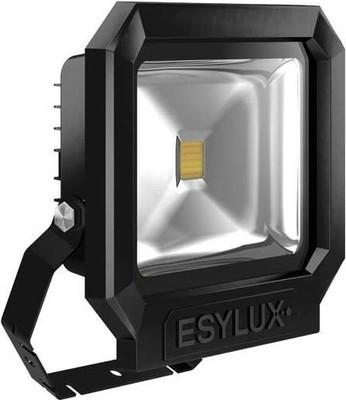 ESYLUX LED-Strahler ADF 5000K m.MontBügel schwarz OFL SUN LED30W 5K sw