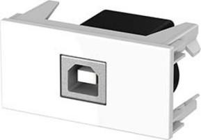Kindermann Anschlussblende USB (TypB/A),ws 7464000525