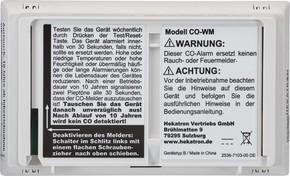 Hekatron Vertriebs CO-Warnmelder CO-WM