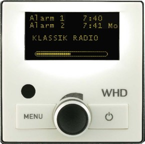 WHD DAB+ Radio UP sw,ohne FB DAB+UP-Radio sw