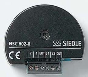 Siedle&Söhne Nebensignal-Controller f.Türruf,f.55er Dose NSC 602-0