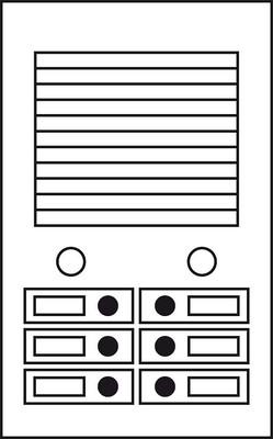 Siedle&Söhne Lautsprecher L2 f.Portavox-Anlagen 200001803-00