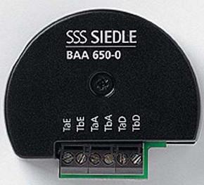 Siedle&Söhne Bus-Audio-Auskopplung BAA 650-0