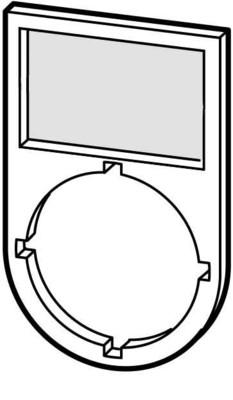 eaton Tastenzusatzschildträger HAND 0 AUTO M22S-ST-D12
