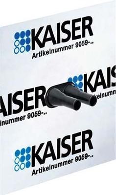 Kaiser Doppelkabelmanschette D=8-11mm 9059-47