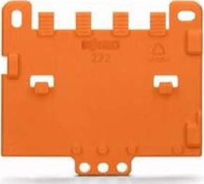 WAGO Kontakttechnik Zugentlastungsplatte 222-505