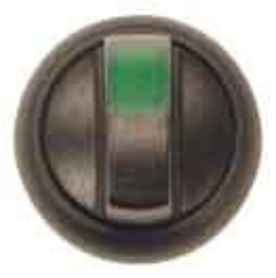 eaton Leuchtwahltaste m.Knebelg. 2 Stell.,grün M22S-WRLK-G