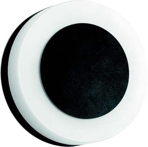 Brumberg Leuchten LED-Wandleuchte 230V IP54 schwarz 10030183