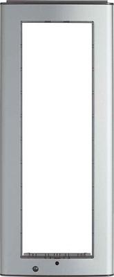 Legrand (SEKO) Abdeckrahmen aluminium 332721