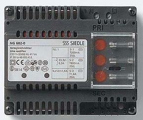 Siedle&Söhne Gleichrichter 230V/12VAC - 23,3VDC NG 602-01 DE