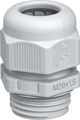 OBO Bettermann Verschraubung Vollmetrisch V-TEC VM20 SGR