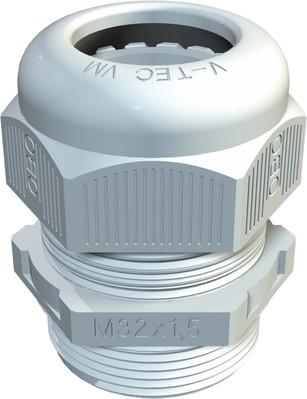 OBO Bettermann Verschraubung Vollmetrisch V-TEC VM16 LGR