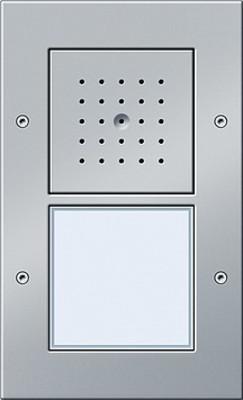 Gira Türstation AP 1-fach ch aluminium 126665
