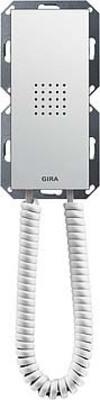 Gira Wohnungsstation reinweiß-glänzend Standard m.Hörer 128103
