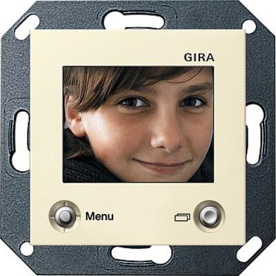 Gira TFT-Farbdisplay cremeweiß-glänzend 128601