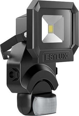 ESYLUX LED-Strahler schwarz SUNAFLTR1000850MDBK