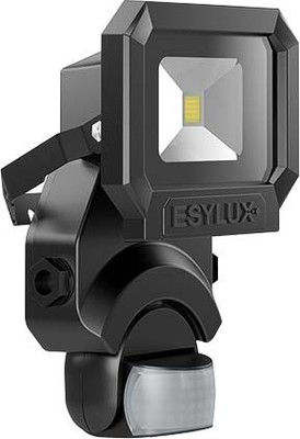 ESYLUX LED-Strahler schwarz AFL SUN LED10W 5K sw