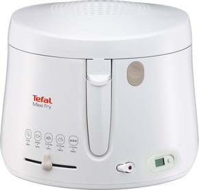 Tefal Fritteuse MAXI-FRY mit Timer FF 1001 weiß