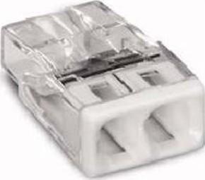 WAGO Kontakttechnik Verbindungsdosenklemme 2x 0.5-2.5 weiß 2273-202