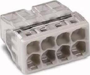 WAGO Kontakttechnik Verbindungsdosenklemme 8x 0.5-2.5 2273-208