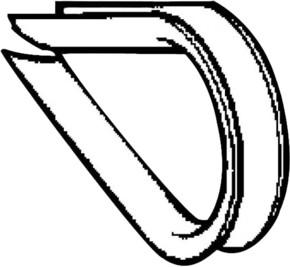 TE Sensors Seilkausche D=5 XY2CZ704