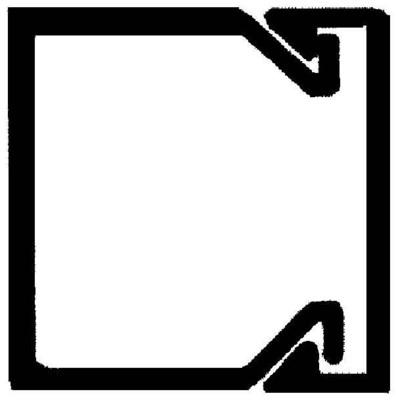 Rehau Elektro.Inst. LE Kanalunter/-oberteil 15/15 reinweiß LE 150150 rws