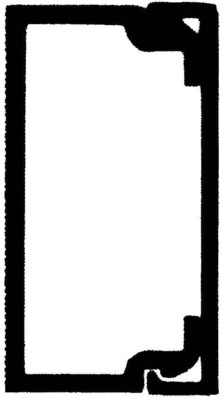 Rehau Elektro.Inst. LE Kanalunter/-oberteil 20/35 reinweiß LE 200350 rws