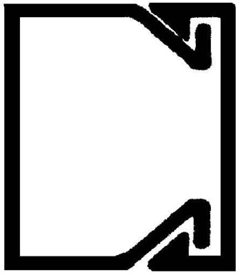 Rehau Elektro.Inst. LE Kanalunter/-oberteil 20/20 sbr LE 200200 brn