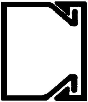 Rehau Elektro.Inst. LE Kanalunter/-oberteil 20/20 reinweiß LE 200200 rws