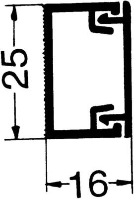 Rehau Elektro.Inst. MKS Minikanal 16/25 reinweiß MKS 160250 rws