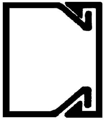 Rehau Elektro.Inst. LE Kanalunter/-oberteil 20/20 lichtgrau LE 200200 lgr