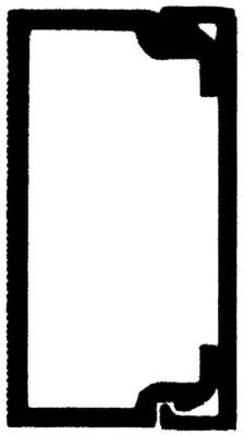 Rehau Elektro.Inst. LE Kanalunter/-oberteil 20/35 lichtgrau LE 200350 lgr