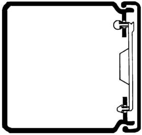 Rehau Elektro.Inst. LE Kanalunter/-oberteil 60/60 lichtgrau LE 600600 lgr