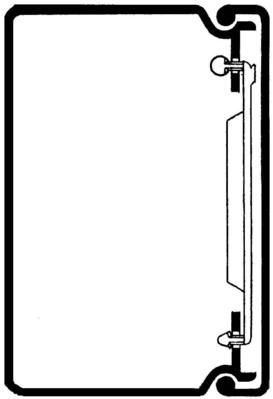 Rehau Elektro.Inst. LE Kanalunter/-oberteil 60/90 lichtgrau LE 600900 lgr