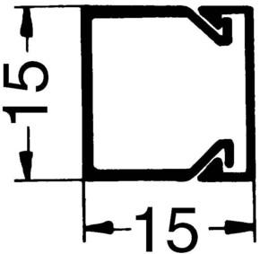 Rehau Elektro.Inst. LE Kanalunter/-oberteil 15/15 cws LE 150150 cws