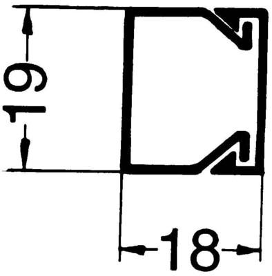 Rehau Elektro.Inst. LE Kanalunter/-oberteil 20/20 cws LE 200200 cws