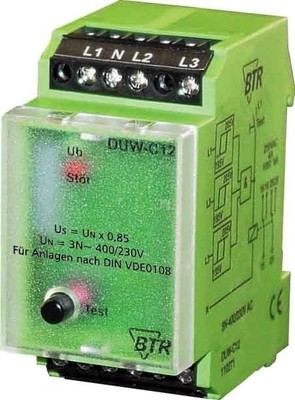 BTR NETCOM Netzüberwachung DUW-C12 3x230V