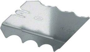 Tehalit Kupplung f.LFS H=60mm R 2604 verz (Paar)